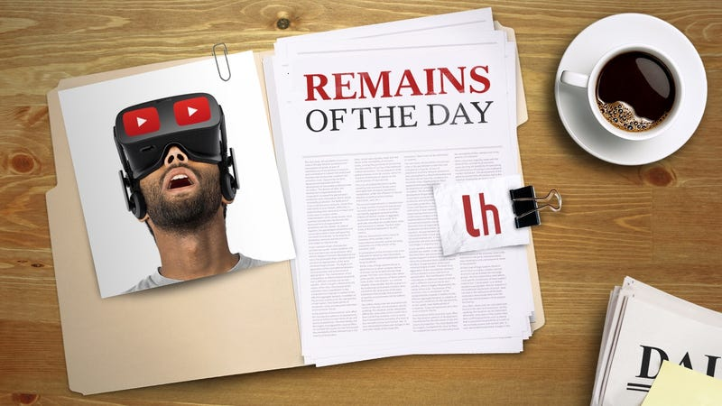 Illustration for article titled Remains of the Day: YouTube Adds Support for Live 360-Degree Videos
