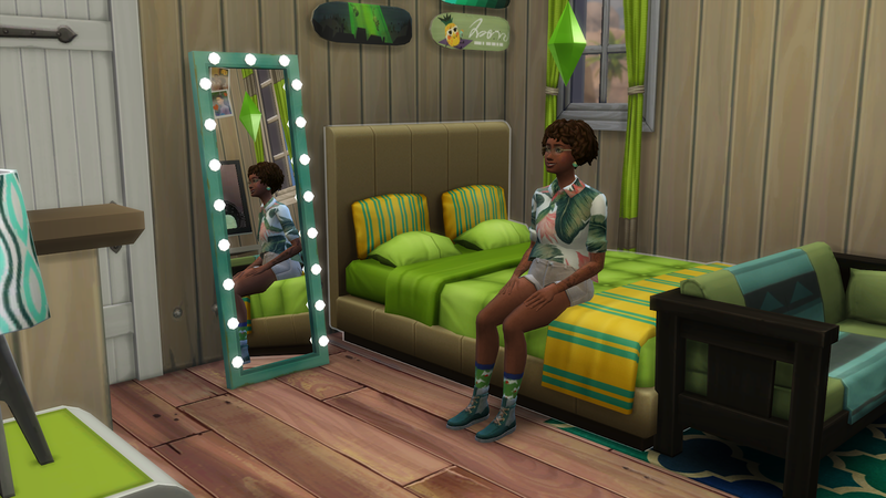 Illustration for article titled Sim 4 Players Make Luxurious Trailer Homes to Celebrate New Alien-Themed Content