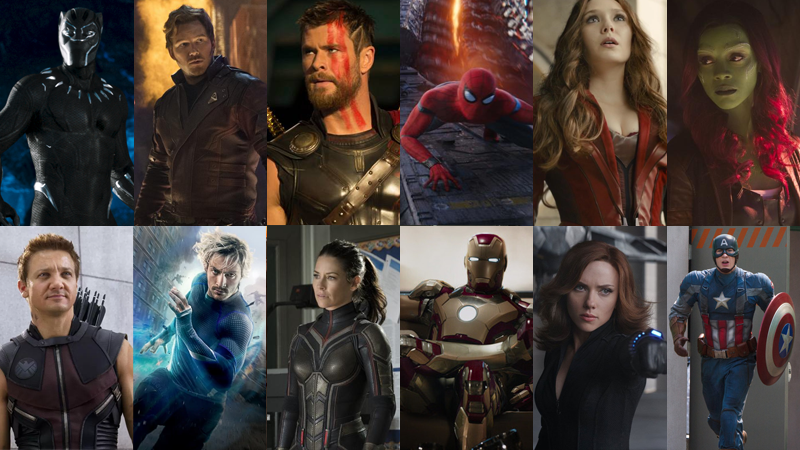 10 Years of Marvel Movie Hero Costumes, Ranked