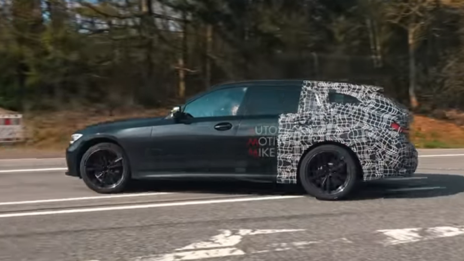 BMW's Next M340i Wagon Looks and Sounds Incredible