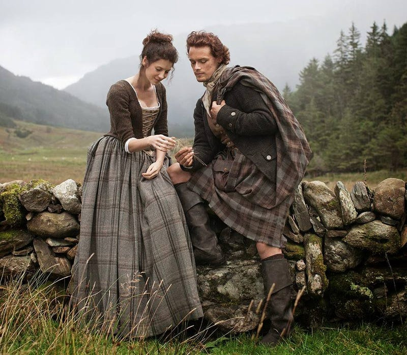 Illustration for article titled Outlander on Starz on Demand, a week early!