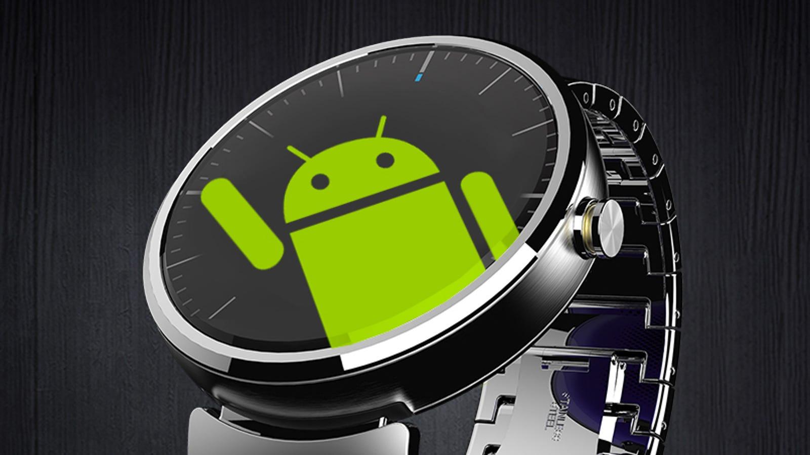 Las cinco armas de Android Wear para arrasar en smartwatches