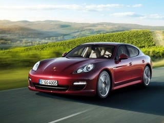 Illustration for article titled Porsche Panamera V6: Now Without Forceful Acceleration!