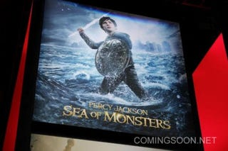 Illustration for article titled New Poster For Percy Jackson and the Sea Monsters