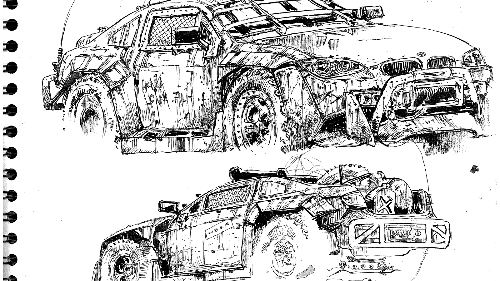 My car made into a Mad Max ute by a LaLDer!