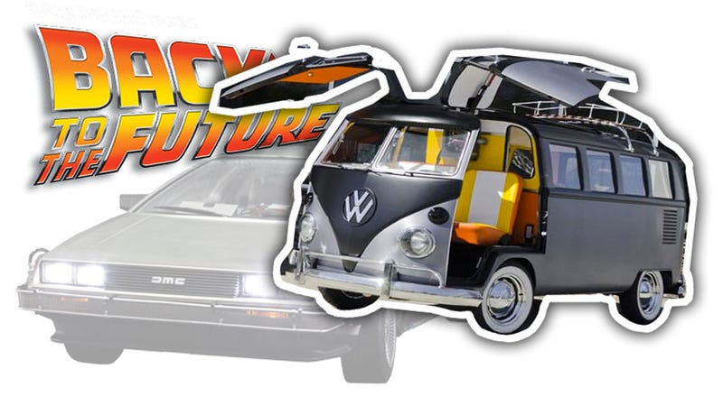 Illustration for article titled Carolina Panthers Cornerback Cortland Finnegan Is Selling His Back To The Future Microbus