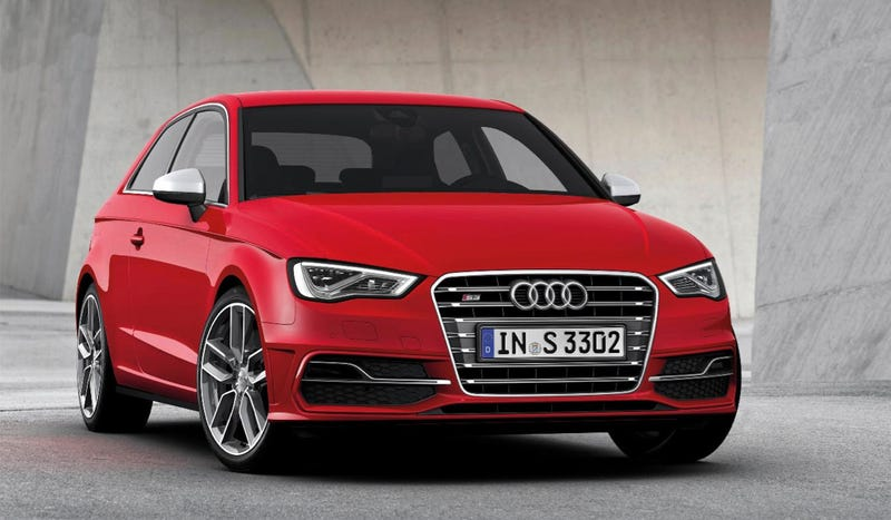 Illustration for article titled The 2013 Audi S3 Comes Straight From Hot Hatchback Heaven