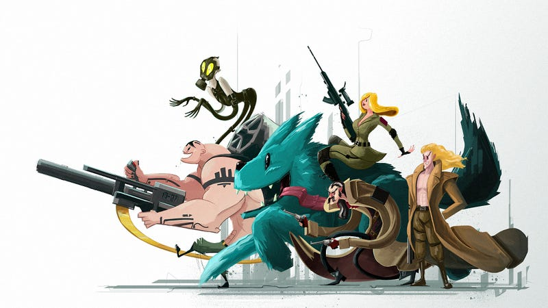 Illustration for article titled Metal Gear Solid Characters, Fresh Out Of A Cartoon