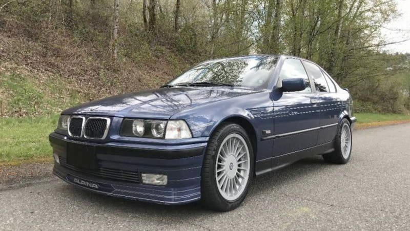 Illustration for article titled At $26,995, Is This Rare 1994 Alpina BMW B3 3.0/1 An E36 We'd All Pine For?