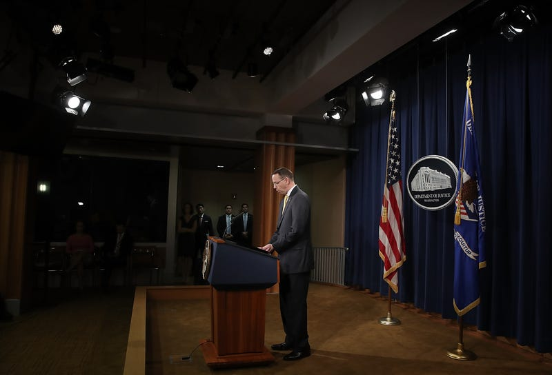 Illustration for article titled Deputy Attorney General Rod Rosenstein Is Expected to Resign or He's Being Fired. Either Way, He's Gone: Report [Updated]