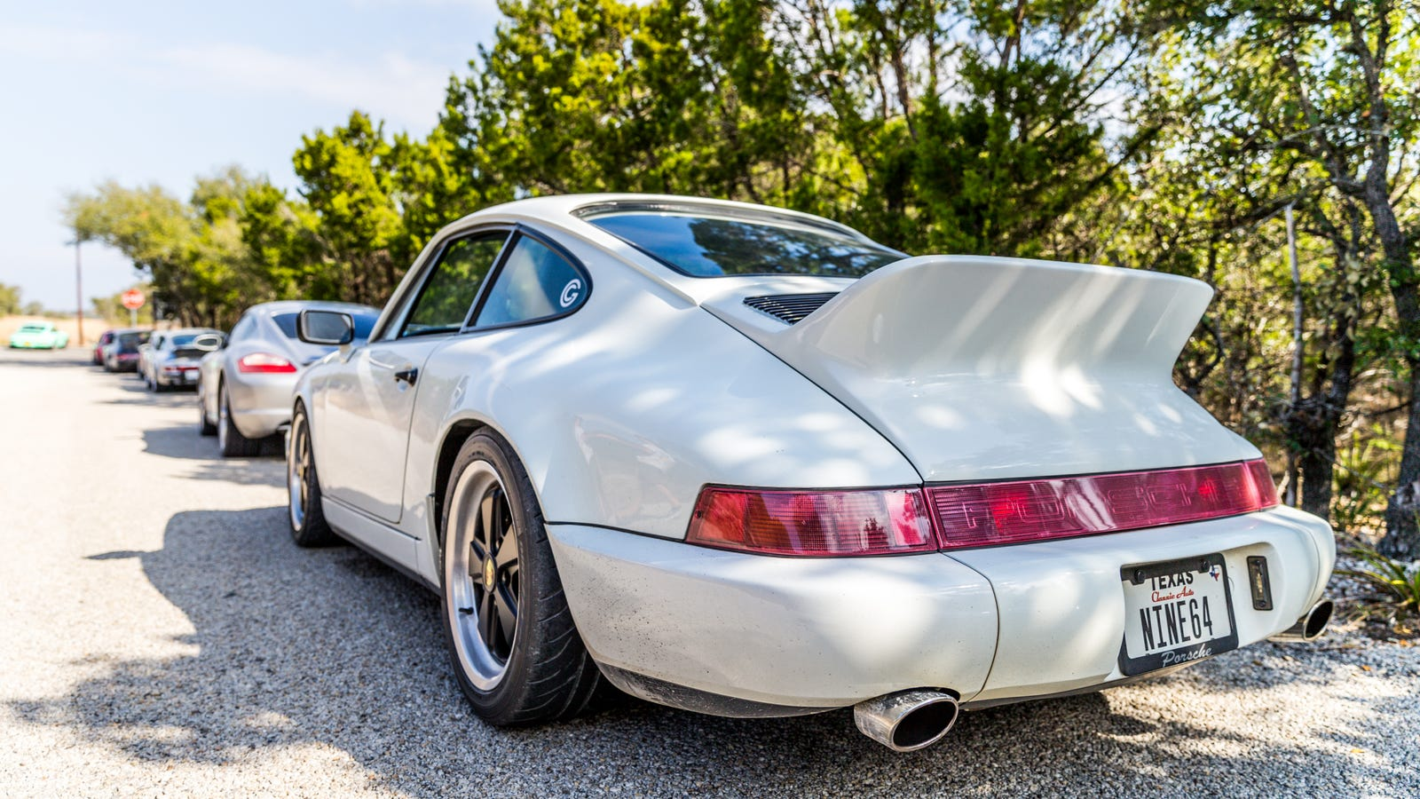I'm Driving This Tuned Porsche 964 From Austin To Los Angeles