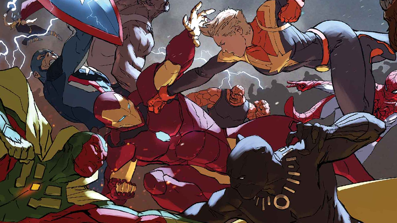Illustration for article titled Marvel'sCivil War IIIs Another Damn Mess