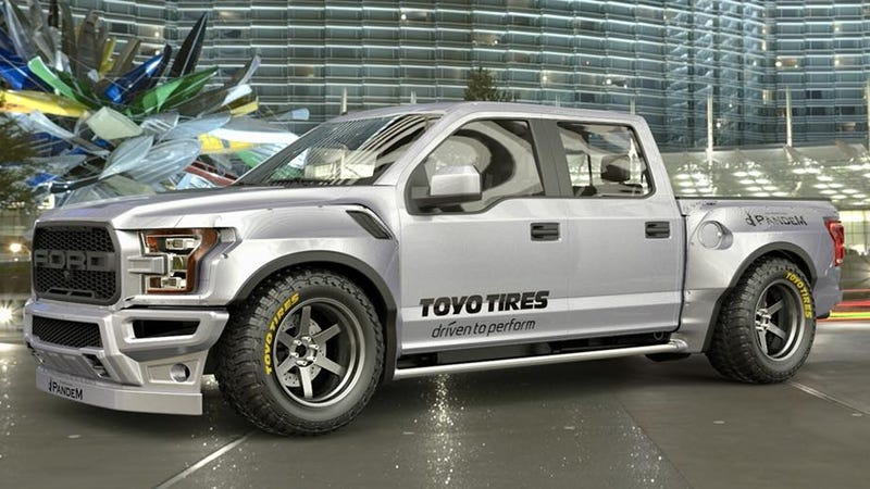 Ford Ranger Jdm : This jdm style rocket bunny ford raptor is deeply disturbing