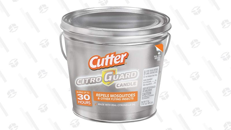 Cutter Citro Guard Candle, 6 Pack | $33 | Amazon