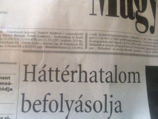 Illustration for article titled Itt van végre Simicska igazi bosszúja: a Magyar Nemzet leleplezte az MNB-t
