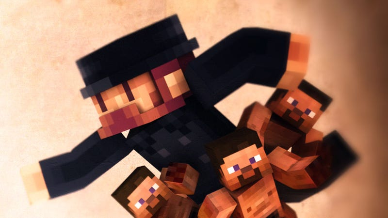 Illustration for article titled Minecraft's Creator is a God