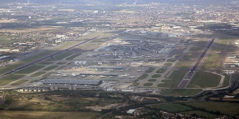 Heathrow. Wikimedia Commons