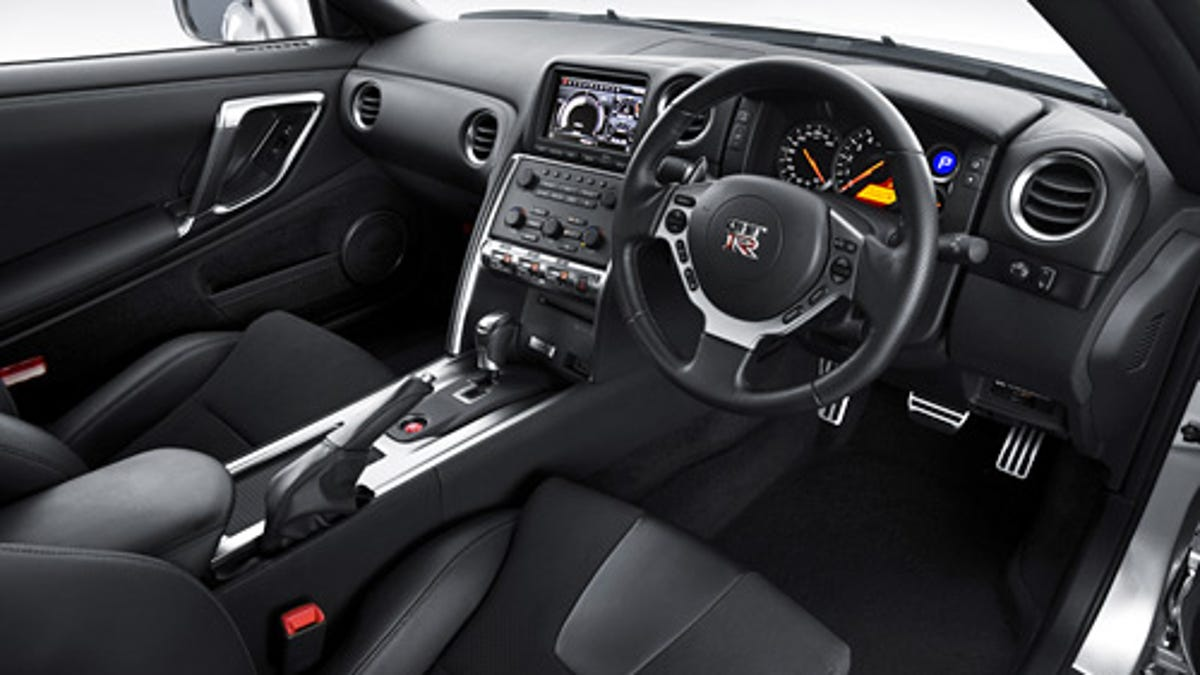 Nissan Gt R Detects When Car Is On A Race Track Disables Speed Motor Limiter Via Gps