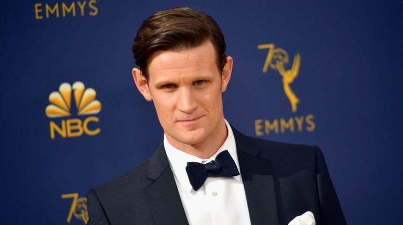 Matt Smith at the 70th Emmy Awards in Los Angeles, California