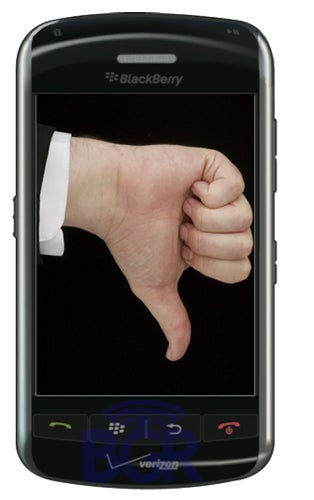 """Illustration for article titled BlackBerry Thunder Has Multitouch, Though Still """"Not Ready"""" Say Rumors"""