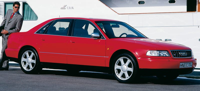 Illustration for article titled Audis Look Best In Red