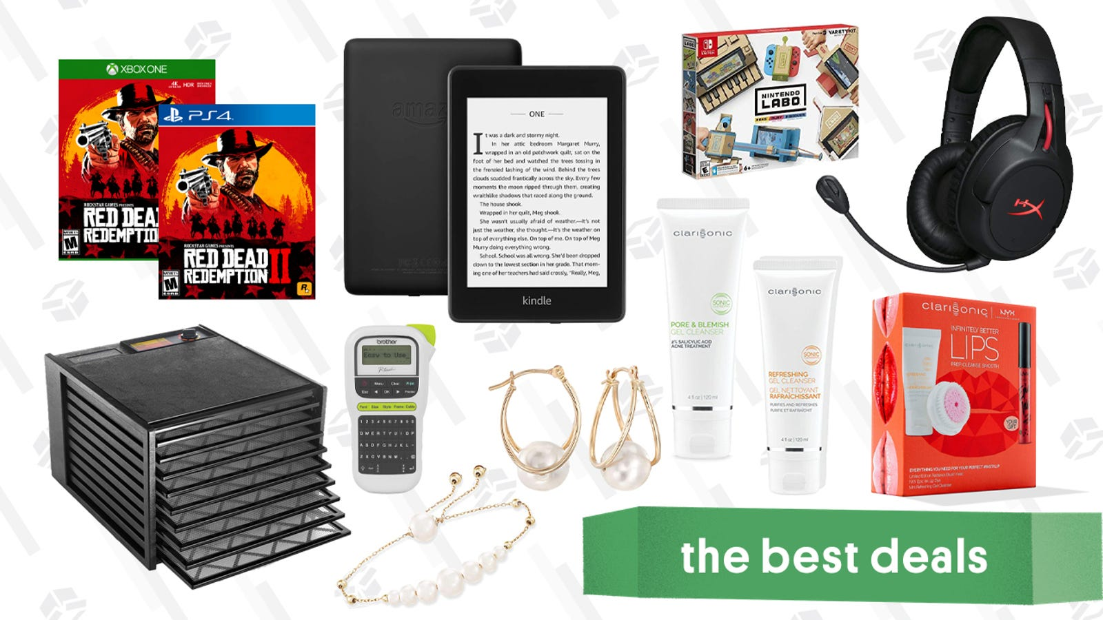 QnA VBage Sunday's Best Deals: iPads, m50xBT Headphones, Kingdom Hearts III, Clarisonic Accessories, and More