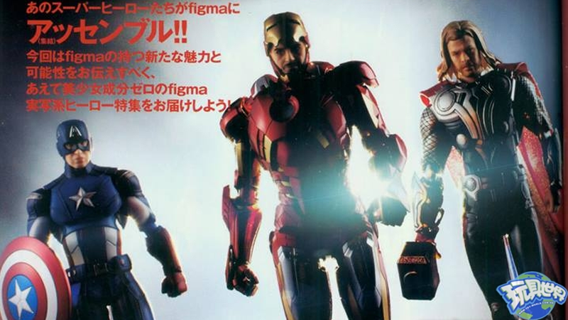 Illustration for article titled Wow, these Avengers FIGMA figures look awesome!