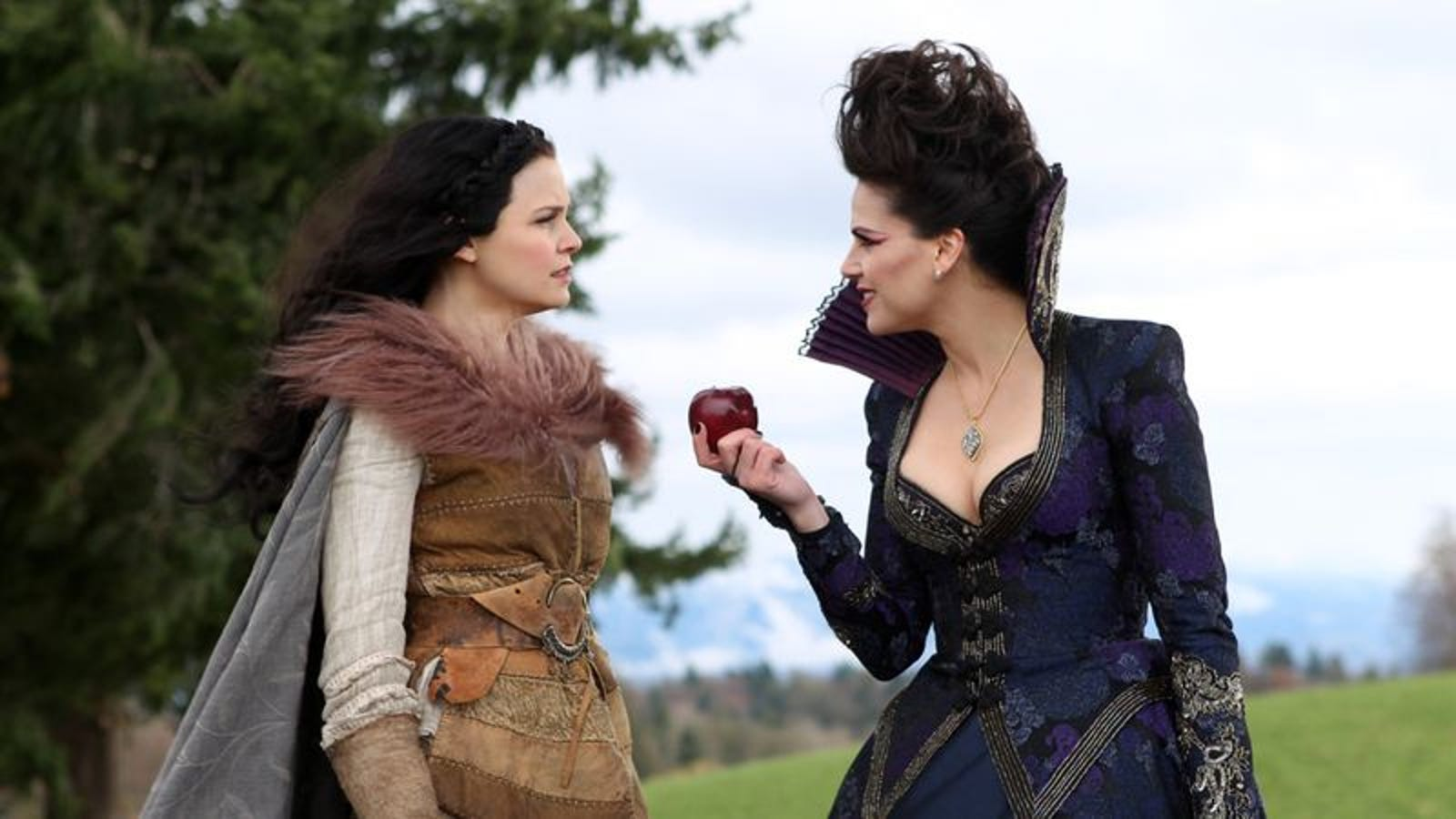 "Once Upon A Time: ""An Apple Red As Blood"""