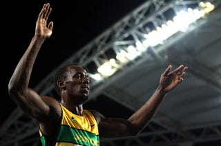 Illustration for article titled Bolt Helps Jamaica Set New Record at World Track Championships