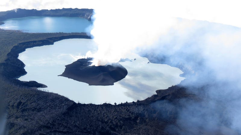 two looming volcanic eruptions could slow climate change but they