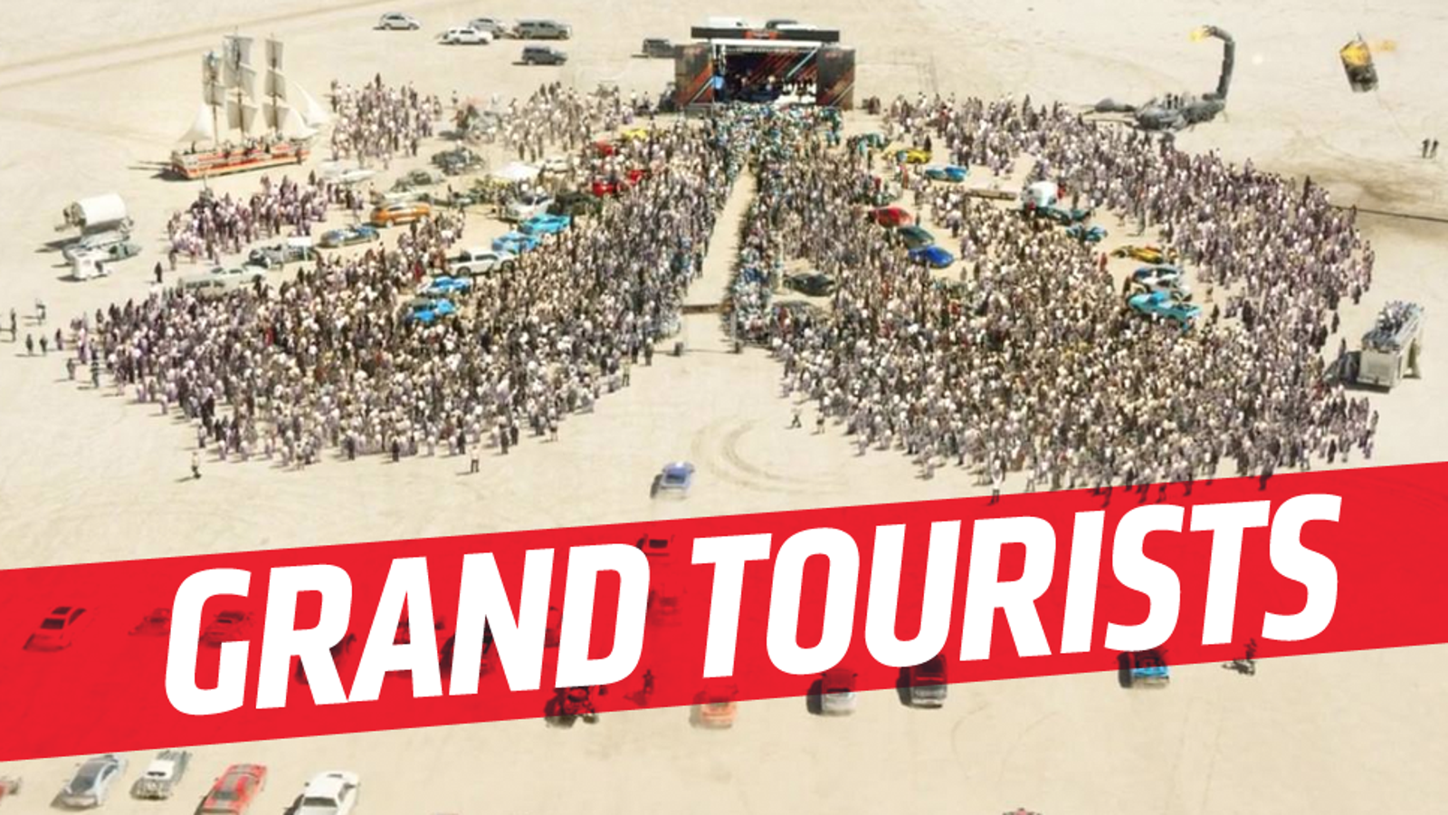 Cars In The Opening Sceneof The Grand Tour