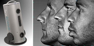 Illustration for article titled FaceSCAN III Makes 3D Modeling Child's Play
