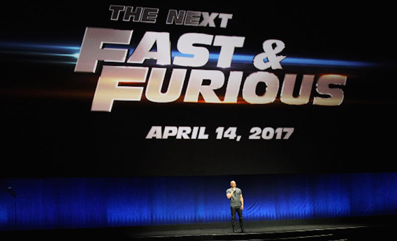 Illustration for article titled Call Your Family: The Next Fast and Furious Movie Has A Release Date