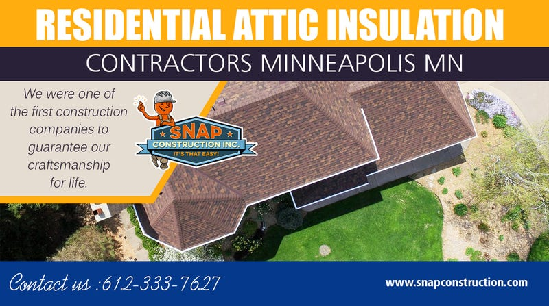 Illustration for article titled Residential Attic Insulation Contractors Minneapolis MN