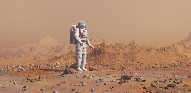 Illustration for article titled Los astronautas que viajen a Marte perderán inteligencia por el camino