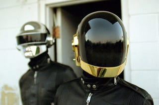 Illustration for article titled A Visual History of Daft Punk's Helmets