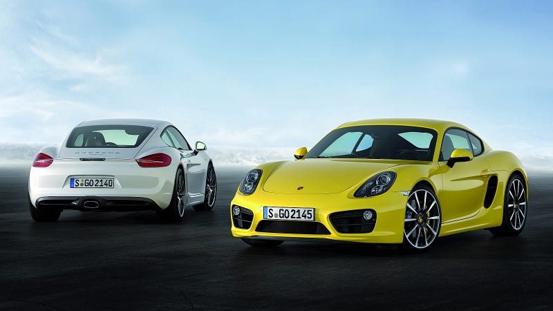 Illustration for article titled 2013 Porsche Cayman: A Porsche Coupe That Will Make You Weak In The Knees