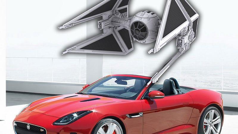 Illustration for article titled The Jaguar F-Type Has The Best Star Wars Inspired Easter Egg