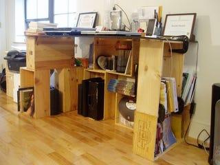 Illustration for article titled The Wine Case Desk