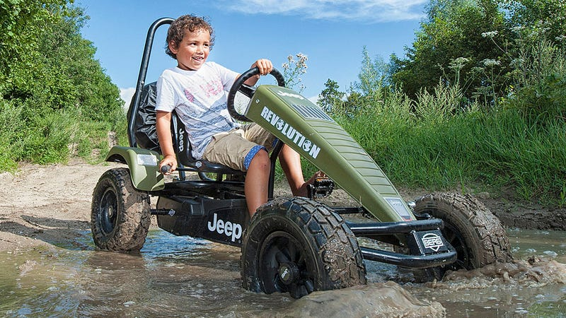 Illustration for article titled This Jeep Go-Kart Is Probably Better at Off-Roading Than Your Car