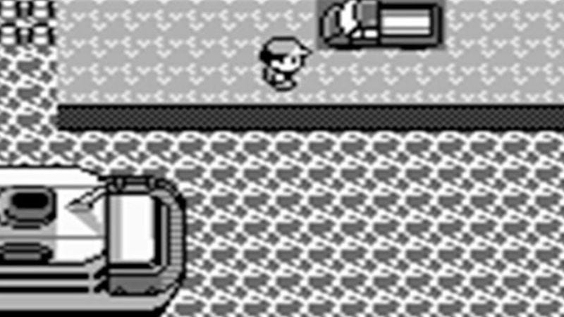 The infamous truck in front of the S.S. Anne in Pokémon Red and Blue