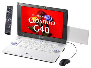 Illustration for article titled Toshiba Full HD Qosmio G40 comes with Santa Rosa and HD-DVD-R