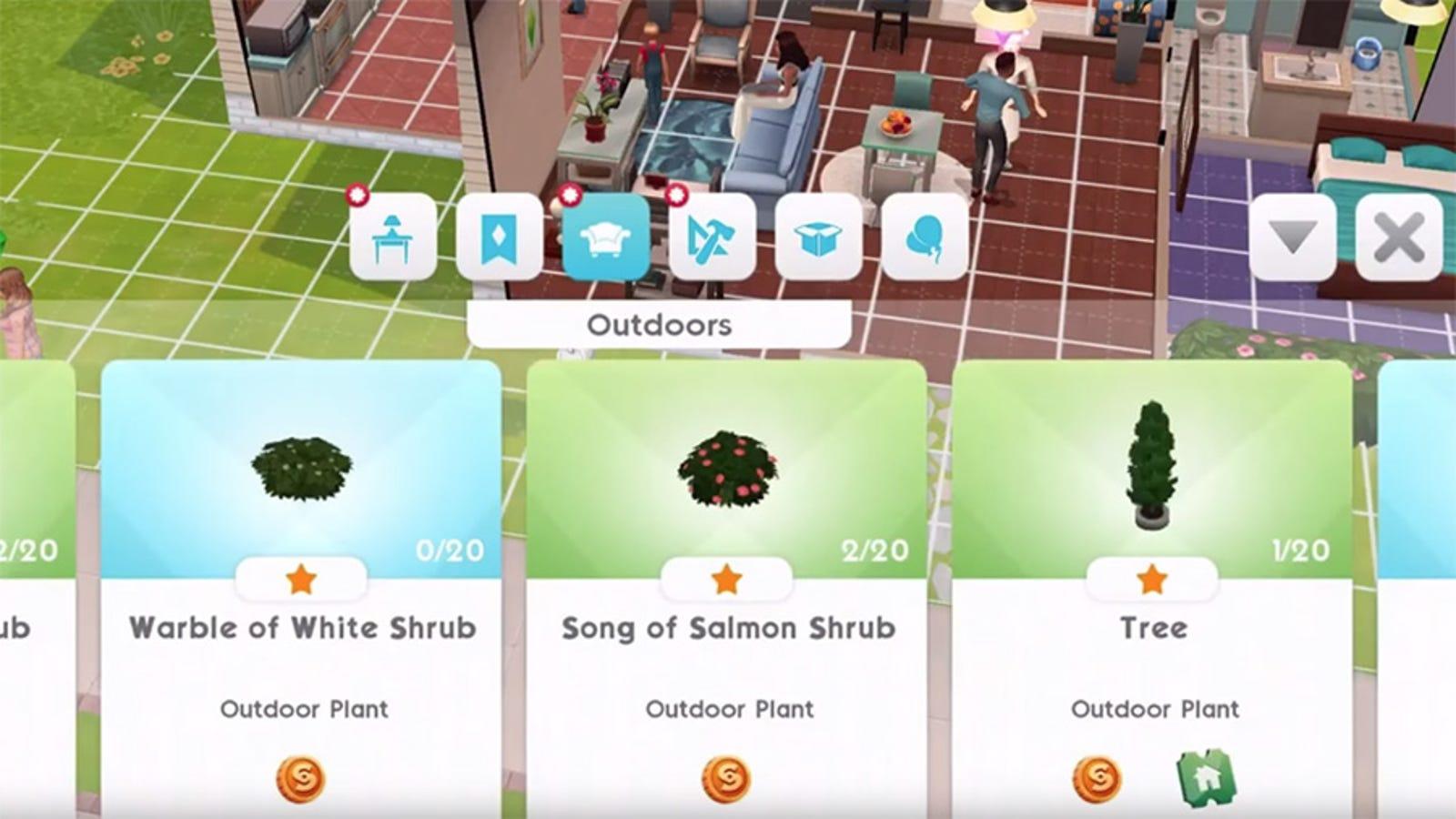 the sims cheat codes ipad