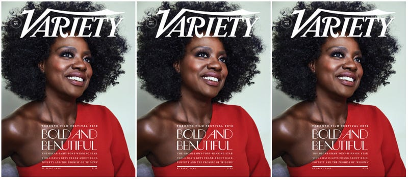 Illustration for article titled Aspiring to the A-List? Viola Davis Talks Inclusion, Inequities and Acting in Her Natural Hair