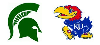 Illustration for article titled NCAA Sweet 16: (2) Michigan State vs. (3) Kansas