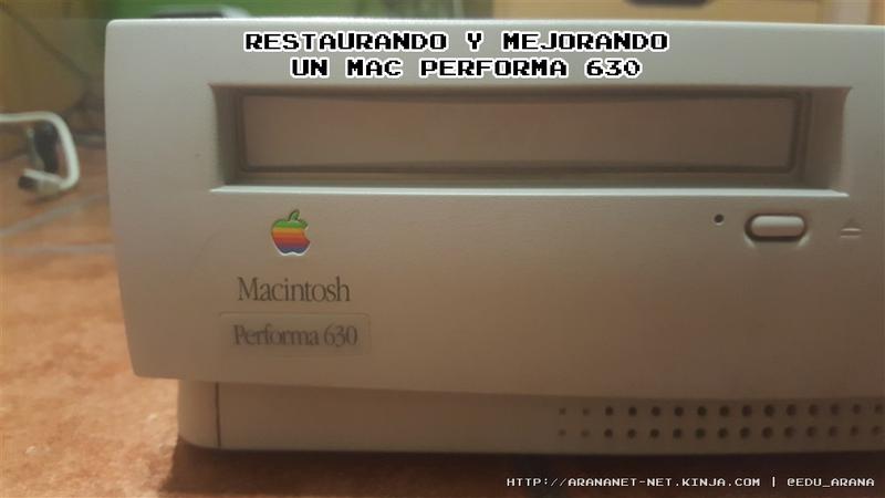 Illustration for article titled Restaurando y mejorando un Mac Performa 630