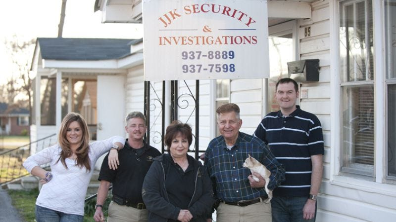 Illustration for article titled Small Town Security