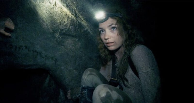 How as above so below shot a horror film in the actual for Inside french movie