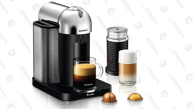 Nespresso Vertuo con vaporizador de leche | $120 | AmazonGráfico: Shep McAllister