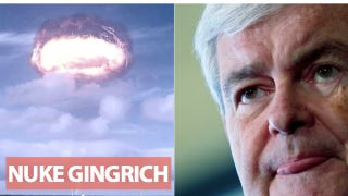 Illustration for article titled Newt Gingrich Is Bizarrely Terrified of a Fake Sci-Fi Weapon